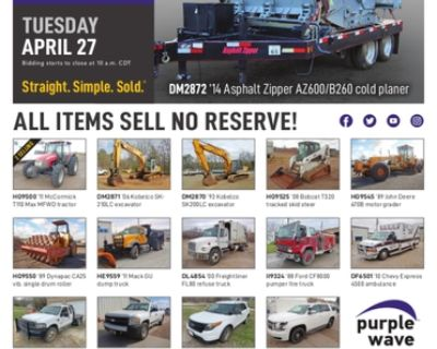 April 27 government auction