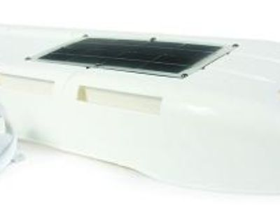 Camco 42165 Refrigerator Vent With Solar Panel