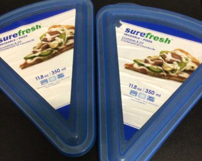 SUREFRESH PIZZA STORAGE CONTAINERS