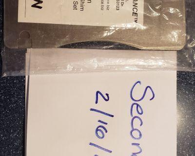 Titanium Brake Pad Shim Heat Shield Kit for Brembos