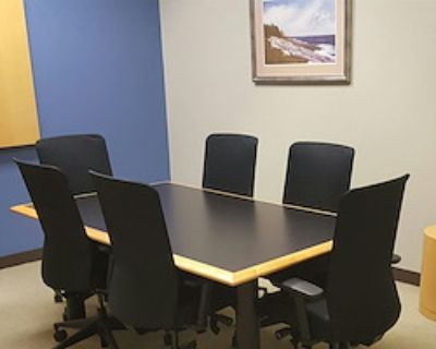 Private Meeting Room for 6 at Intelligent Office - Roswell