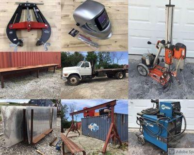 Welding Shop Online Auction