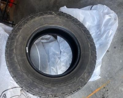 Set of Four Used Tires: 265/70R17 Nitto Terra Grappler G2