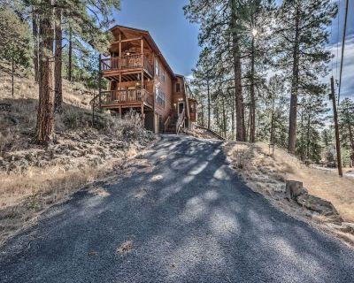New! Spacious Ruidoso Cabin - Ski, Hike & Fish! - Ruidoso