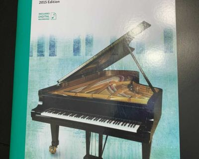 Royal Conservatory level 5 piano repertoire book