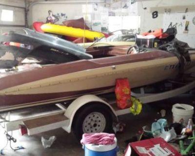 1982 Glastron Carlson Cvx 16 ,ski Boat ,speed Boat ,no Motor
