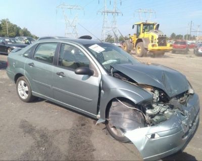 Salvage Green 2003 Ford Focus