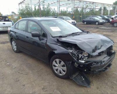 Salvage Pewter 2016 Subaru Impreza Sedan
