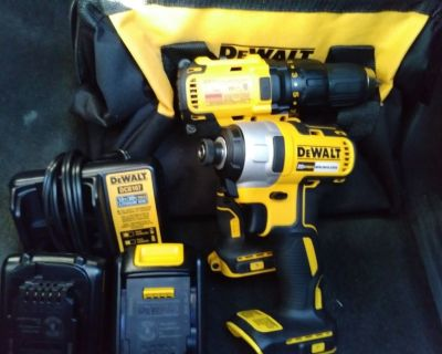 BRAND NEW MAX* COMPACT BRUSHLESS DRILL/DRIVER AND IMPACT KIt