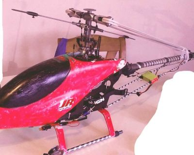 T-REX RC Helicopter - Almost ready to fly & PRICED TO MOVE!