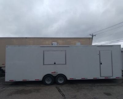 8.5 x 28 2021 NEW Food Concession Trailer For Sale - cargo / trailer / 2021