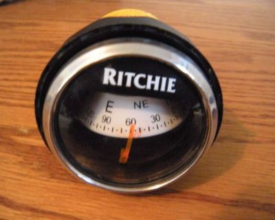 Ritchie Navigational Marine Boat Dash Mount Compass - X-21ws - 100100001949