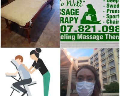 Traveling massage therapist