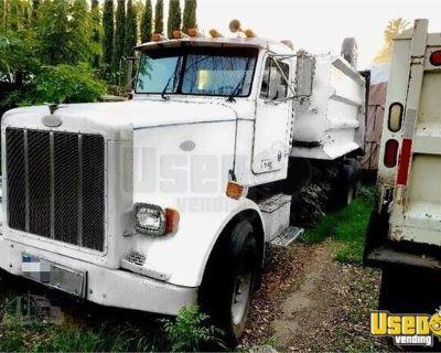 Fully Deleted 1999 Peterbilt 357 Dump Truck / Great Running Semi Truck