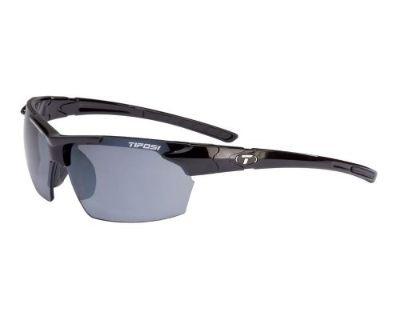 Tifosi #210400270 - Jet Single Lens Sunglasses - Gloss Black