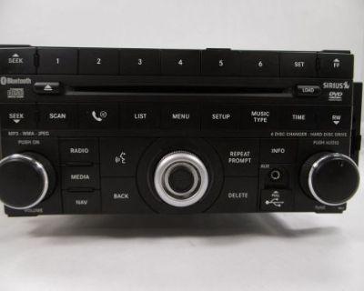 2009 10 Dodge Journey Radio Player Am Fm 6dsc Dvd Mp3 Hdd Nav Oem-p05091097ac