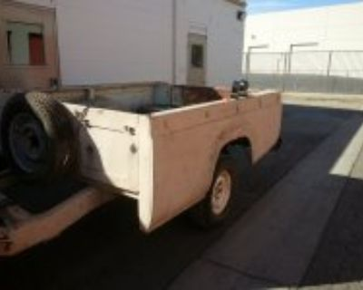 1957-1963 ford pickup bed trailer