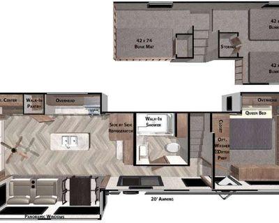 2022 Forest River Rv Salem Grand Villa 42DL