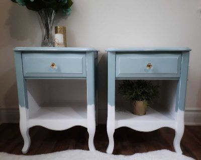 Refinished Nightstand/ Side tables