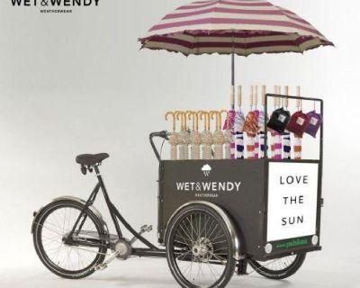 New Style Street Ice Cream Vending Cart