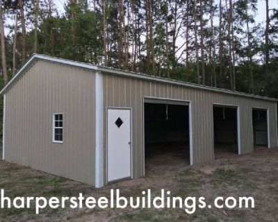 The largest selection of true quality steel buildings