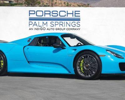 2015 Porsche 918 Spyder Standard