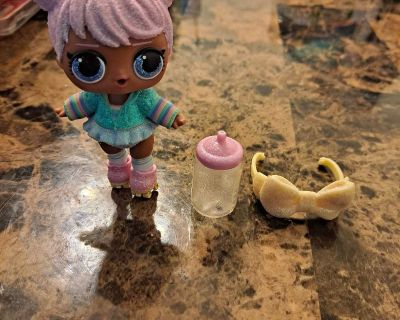 Lol Surprise Doll with water bottle and head band