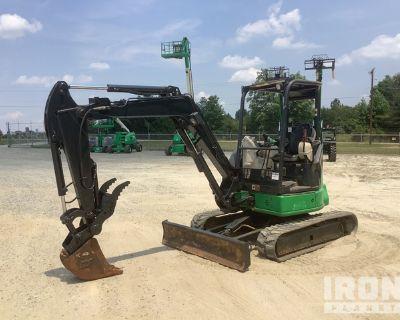 2014 John Deere 35G Mini Excavator