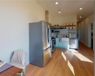 Edwardian-style Mission Dolores apartment with out