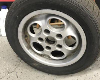 porsche phone dial wheels/tire