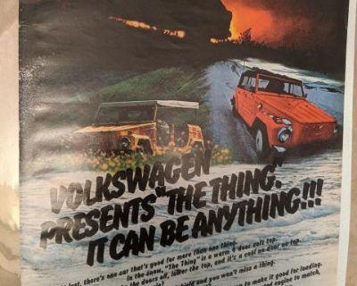 Vintage VW Color Magazine Ads