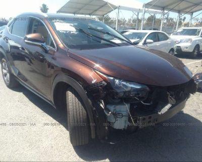 Salvage Brown 2017 Lexus Nx