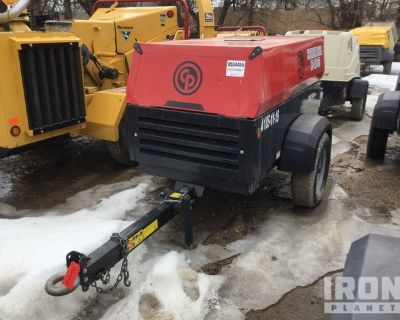2019 Chicago Pneumatic CPS 185 KD7 T4F Mobile Air Compressor