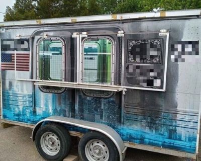 Wells Cargo Mobile Kitchen / Used Street Food Concession Trailer