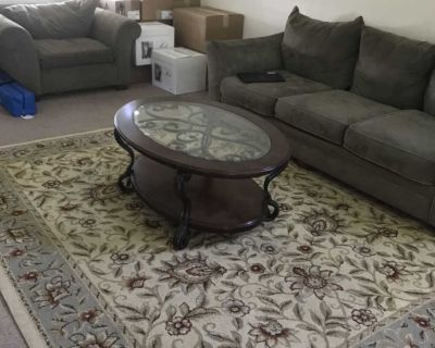 Free Table, chair, area rug, couch