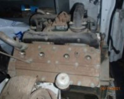 "1947 Cadillac Engine ""rebuilt"""