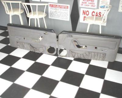 1987 88 89 90 91 92 93 Mustang Gray Door Panels Panel (ford Gt Cobra ) #100213g
