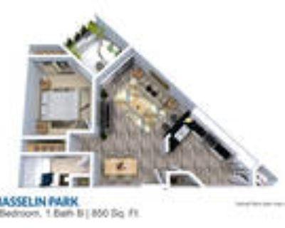 Masselin Park West - 1 Bedroom 1 Bath 850 sq ft