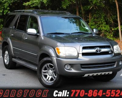 Used 2007 Toyota Sequoia Limited w/ Apple Car Play/ Android Auto
