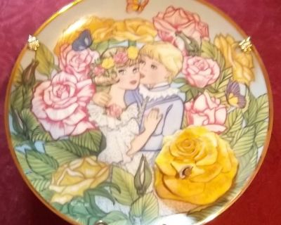 Franklin Mint Heirloom Plate Limited Edition with music