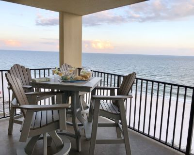 9th Fl.Ocean Front balcony! Sparkling Clean, Pools, Wifi, Tennis, Grills! - Orange Beach