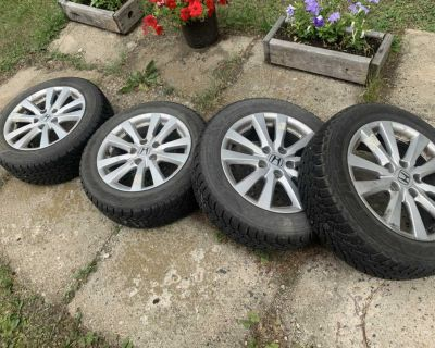 205/55 R16 Nordic winter tires by goodyear