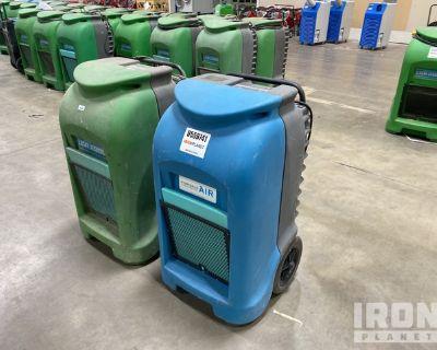 Lot of (2) Dri-Eaz Dehumidifiers