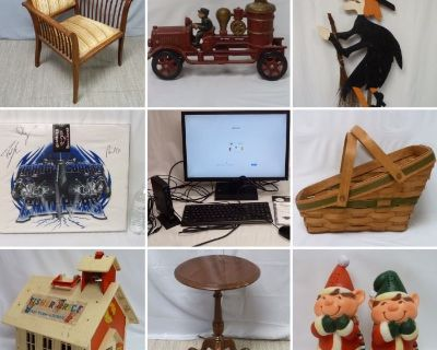 Holiday, Office, Collectibles & Estate Online Auction ~ Close 9/23
