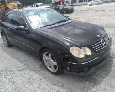 Salvage Black 2004 Mercedes-benz Clk-class