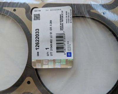 FS 2 GM 12622033 OEM PAIR Brand New Sealed LS9 MLS Cylinder Head Gaskets