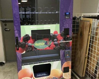 2016 Healthier 4U Combo Healthy Vending Machine