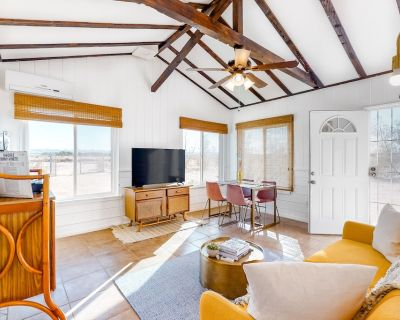 Secluded, Historical Desert Home with Private Hot Tub, Partial AC, and Firepit - San Bernardino County