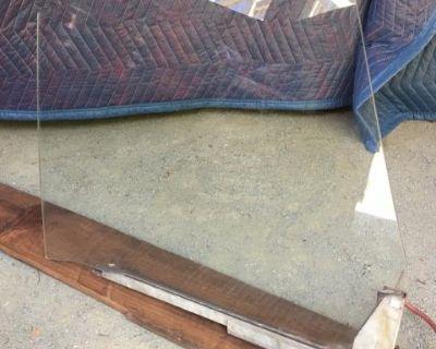 T34 Left Side Door Glass+Vent Frame (Pending Sale)