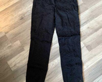 Ladies Zara Black Skinny Pants